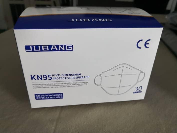 Caja de mascarilla quirúrgica KN95