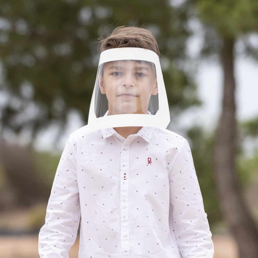 Careta de Protección antifluidos de niño